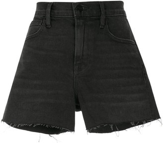 Frame Le Brigette denim shorts