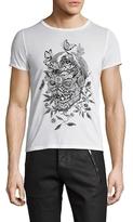 Alexander McQueen Botanical Crewneck T-Shirt