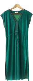 Green Cotton Pluto On The Moon Pluto on the moon Quasi Dress - SIZE 38 - Green