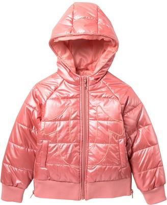 True Religion Quilted Jacket (Toddler & Little Girls)