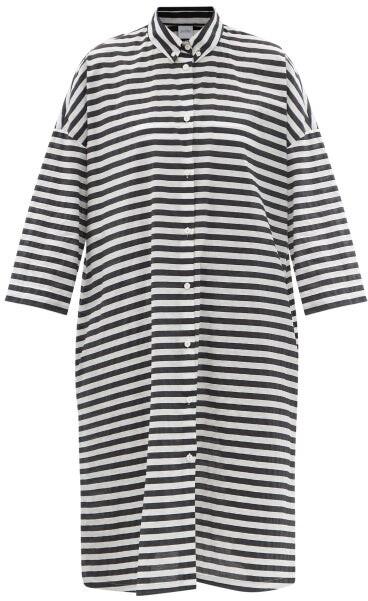 Thumbnail for your product : MAX MARA BEACHWEAR Bibo Dress - Black White
