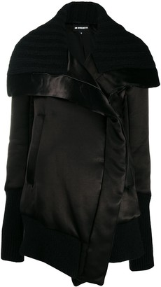 Ann Demeulemeester sweater accent oversized coat