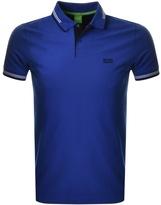 BOSS GREEN Paul Polo T Shirt Blue