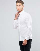 United Colors Of Benetton Slim Fit Shirt With Stretch