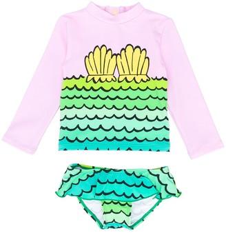 Stella Mccartney Kids Mermaid Print Bikini