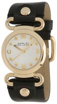 Marc by Marc Jacobs MBM1308 River Black Leather Womens Watch