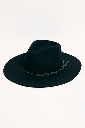 Wyeth Billie Leather Band Felt Hat