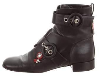 patchwork boots dior