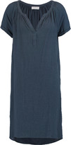 Velvet by Graham & Spencer Paneled textured-cotton dress