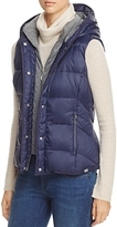 Andrew Marc Performance Hooded Puffer Vest