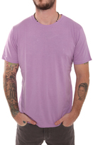 Simon Spurr Spurr by Pima Cotton Crew Neck Lilac