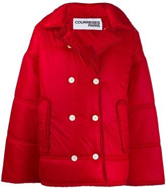 Courreges Oversized Padded Jacket