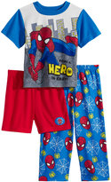 Spiderman 3-Pc. Being A Hero Pajama Set, Toddler Boys (2T-5T)
