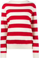 Holiday Sailor long sleeve stripe sweater