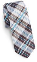 Original Penguin Abner Plaid Silk Tie