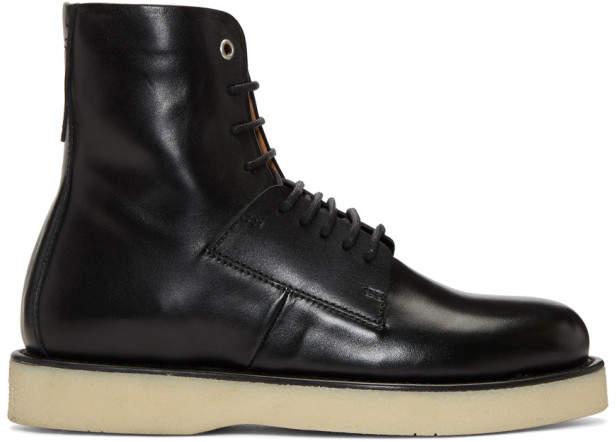 Diesel Black D-Paradox Boots