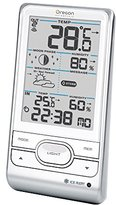Oregon Scientific BAR208_HGW Wireless Weather Station with Humidity and Alert, White