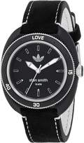 adidas Women's 'Stan Smith' Quartz Plastic and Leather Casual Watch, Color: (Model: ADH3181)