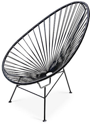 Mexa Acapulco Lounge Chair - Black