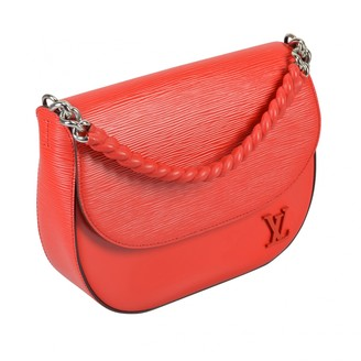 Louis Vuitton Luna Red Leather Handbags