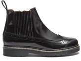 Joseph Trek-sole patent leather brogue-detail ankle boots