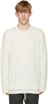 Diesel Off-White K-Pigris Sweater