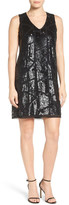 Halogen Sequin Shift Dress