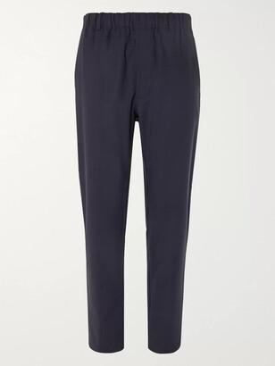 Aspesi Stretch Tech-Jersey Drawstring Trousers