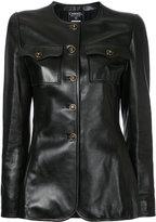 Chanel Vintage veste à taille marquée