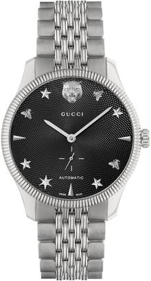 Gucci Men's G-Timeless 40mm Automatic Bracelet Watch