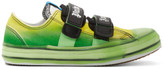 Palm Angels Green Vulcanized Sneakers