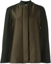 Giamba military style cape coat