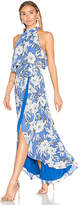 Lovers + Friends Golden Ray Maxi Dress in Blue. - size XS (also in )
