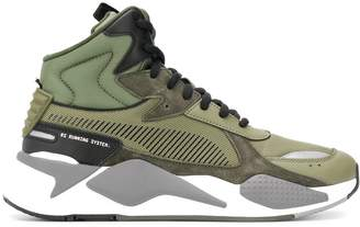 Puma lace-up high-top sneakers