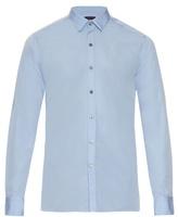 Lanvin Button-cuff Cotton-poplin Shirt