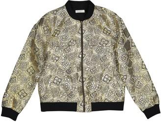 Equipment Gold Jacket for Women