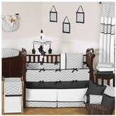 JoJo Designs Sweet Zig Zag 9 Piece Crib Bedding Set