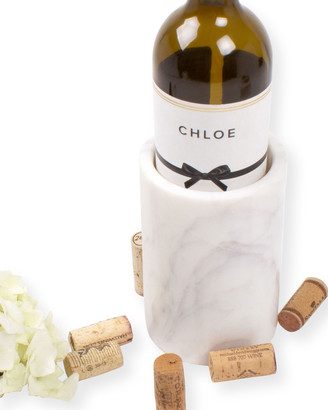 8 Oak Lane White Marble Wine Chiller