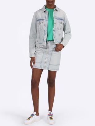 Off-White Bleached Denim Jacket