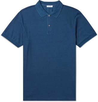 Sunspel Pima Cotton-Pique Polo Shirt