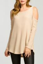 Cherish Taupe Thermal Top
