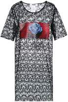 MSGM lace T-shirt dress