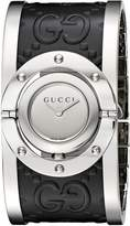 Gucci Women's 'Twirl' Quartz Stainless Steel Automatic Watch, Color:Silver-Toned (Model: YA112441)