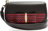 Salvatore Ferragamo Anna Vara leather shoulder bag