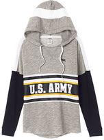 PINK Army Varsity Pullover Hoodie