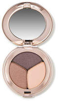Jane Iredale PurePressed Eye Shadow Triple - Brown Sugar - warm brown shimmery peach and shimmery copper egg