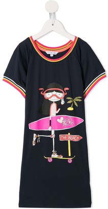 The Marc Jacobs Kids Printed Shift Dress