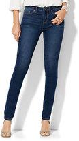New York & Co. Soho Jeans - High-Waist Skinny - Dark Tide Wash