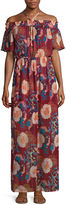As U Wish As U WishOff The ShoulderMaxi Dress-Juniors