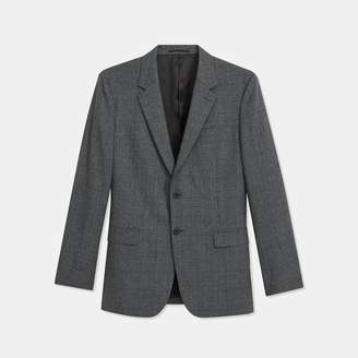Theory Wool Glen Plaid Chambers Blazer